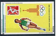Bolivien Block 92/93 postfrisch / Olympiade ..............................1/2853