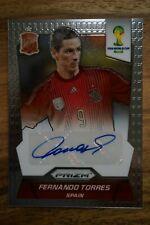 2014 Panini Prizm FIFA World Cup Signature Fernando Torres - Spain - Chelsea