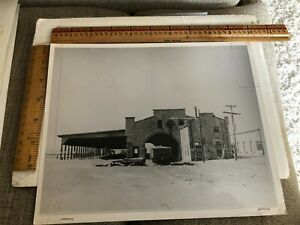 Vintage photo Railroad stone station Boston Herald submission