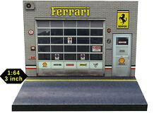 Diorama présentoir Ferrari - 1/64ème - #3in-2-L-L-004