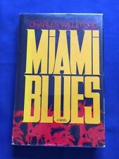 MIAMI BLUES - FIRST EDITION BY CHARLES WILLEFORD