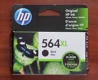 HP Genuine 564XL Black Ink Cartridge (No Box) PhotoSmart 5510 6520 OEM Exp. 2020