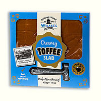 WALKERS HAMMER GIFT PACK - 400G ORIGINAL TOFFEE, RETRO SWEETS, NONSUCH CHRISTMAS