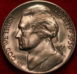 1939-D Denver Mint Jefferson Nickel