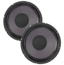 Pair Eminence Patriot Ragin Cajun 10 inch Lead Rhythm Guitar Speaker 8 ohm 75 W