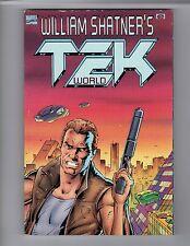 WILLIAM SHATNER'S TEK WORLD MARVEL COMICS 1994 1st PRINT ISBN: 759606359851 NEW