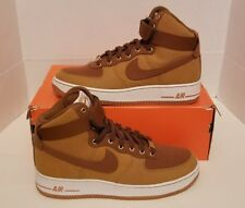 Nike Air Force 1 High '07 WW Shale/Wheat/Brown Men's SZ 9 NEW SAMPLE 631405-200