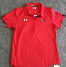 Texas Tech Under Armour Coupe Lache/Suelto Loose heatgear Womans L