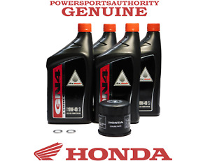 2002-2005 Honda VTX 1300 C R S, VTX1800 1 2 3 C F N R S OEM Oil Change Kit H18