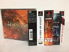 Playstation PS1 The Legend of Dragoon w/spine Japan JP GAME z2543