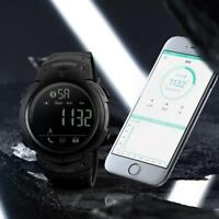SKMEI Bluetooth Pedometer Digital Smart Watch Phone Mate For Android IOS AU