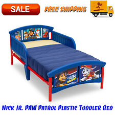 Nick Jr. Paw Patrol Plastic Toddler Bed, Blue, Bedroom Furniture, For Childrens
