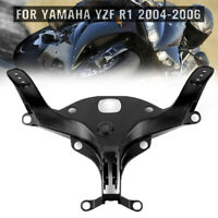 HDBUBALUS Motorcycle Upper Stay Fairing Headlight Bracket for Yamaha YZF R1 2004 2005 2006