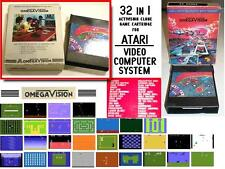 OmegaVision ATARI 2600 - 32 in 1 clone game cartridge vintage modul cartucho NEW