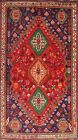 Excellent Vintage Abadeh Nafar Vegetable Dye Area Rug Hand-knotted Oriental 4x6