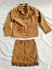 Jessie Cowgirl Toy Story Jacket and Skirt  Size 6 6x
