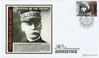 2008 90th ANNIVERSARY OF THE ARMISTICE Gen JOSEPH SIMON GALLIENI BENHAM COVER