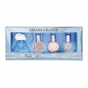 💕ARIANA GRANDE 4 MINI PERFUME SET CLOUD+ARI+SWEET LIKE CANDY+MOONLIGHT RSV $352