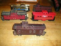 HO TRAIN LOT MISCCAB5. TYCO ATHEARN MISC CABOOSE