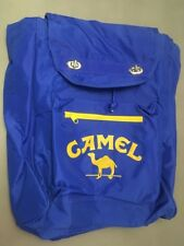 "New 90s Vintage Camel Cigarette Backpack Tote 17"" X 14"" Multi Purpose Unused"