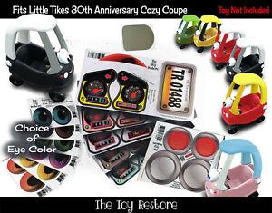 Giocattolo Ripristinare Ricambio Adesivi Per 30th Anniversary Little Tikes Coupe