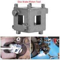 "Car Rear Disc Brake Piston Caliper Wind Back Cube Tool 3/8"" Silver Durable 1pc"