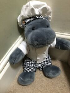Chef Hippo Soft Toy