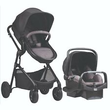 Baby Strollers Car Seat Combo 3 in 1 Reversible Travel System with Safemax