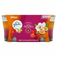 Glade 2in1 Jar Candle Air Freshener Hawaiian Breeze and Vanilla Passion Fruit...