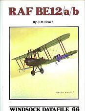WINDSOCK  DATAFILE 66 - RAF  BE 12 A/B  , new SB ,British  a/c