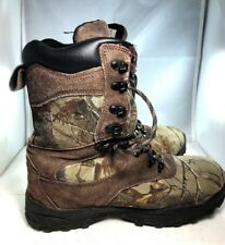 Itasca Mens Thinsulate Ultra insulated waterproof Camo Boots Sz 8 EUC (2S15)