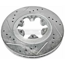 Power Stop AR8653XL & AR8653XR Cross-Drilled/Slotted Front Brake Rotors