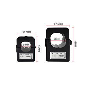 5A Split Core Current Transformer CT Current Sensor Three Phase Input 24mm Core