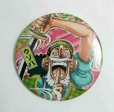 One Piece WANO Can Badge Button Usopp Usoppachi Yakara Eiichiro Oda Anime F/S