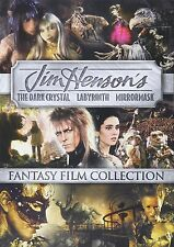 Dark Crystal / Labyrinth / Mirrormask Jim Henson w/ David Bowie DVD Box Set NEW!