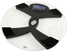 American Weigh Scales - Digital Talking Bathroom Scale - Clear/Black