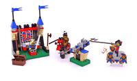 Lego Castle Knights Kingdom I Set 6095 Royal Joust 100% complete vintage 2000