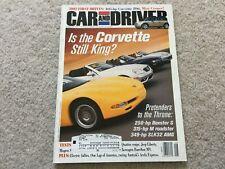 2001 Jeep Liberty, Volkswagen Eurovan MV, Acura RSX, Chevy Corvette Magazine
