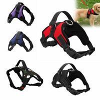Saddle Shape No Pull Nylon Lead Walking Collar Chest Strap Pet Harness Dog Vest