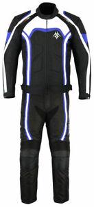 Men's Motorcycle Safety Jacket Trouser Air-Vent Hi-Viz Reflective Suit CE Armor
