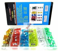 120Pc Blade Fuse Assortment Auto Car Truck Motorcycle FUSES Kit ATO