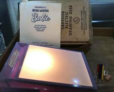 Vintage Lakeside Barbie Dramatic New Living Drawing Electric Light Tracing Desk