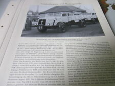 Nutzfahrzeug Archiv 3 Sonderthemen 3540 IFA Firmengeschichte DDR
