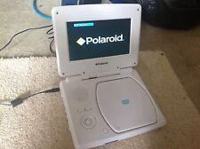 """White Polaroid Portable DVD Player (7"""")"""