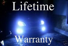 MONSTER 10000K ULTRA BLUE LIFETIME WARRANTY XENON HID LOOK HEADLIGHTS 9007