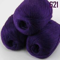Sale New 3 Skeins x50g Soft Pure Cashmere Hand Wool Shawl Scarf Knitting Yarn 21