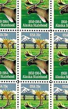 1984 - ALASKA STATEHOOD - #2066 Full Mint -MNH- Sheet of 50 Postage Stamps