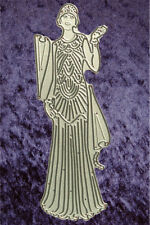 All Occasion Dies - Art Deco Elegant Lady - Metal Craft Die - Robert Addams 238
