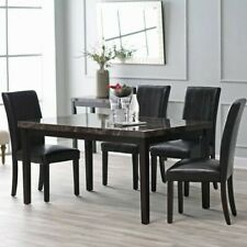 Finley Home Milano Dining Table, Espresso, Medium
