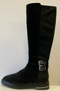 DKNY Lena Knee High Boots UK 3.5 US 6 EUR 36 REF D111~